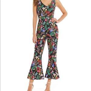 Like new! Beautiful Floral print jumpsuit